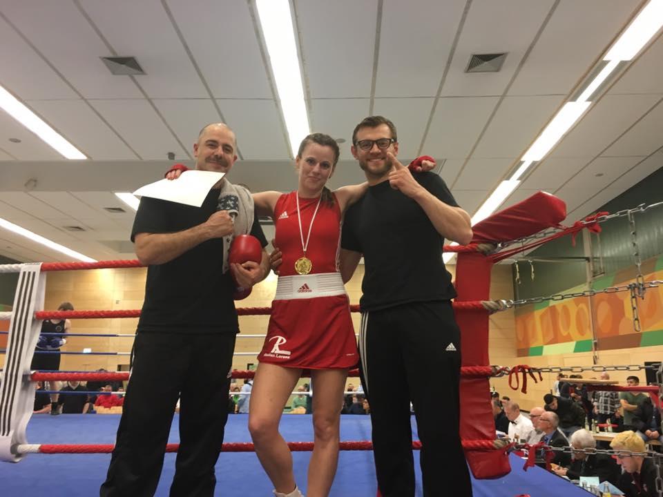Corinna Lorenz - Saarlandmeister 2017 - B-Frauen bis 60 kg