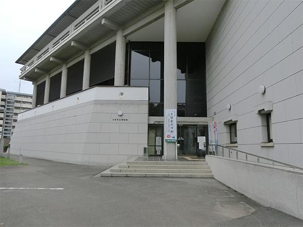 会場(土浦市立博物館)