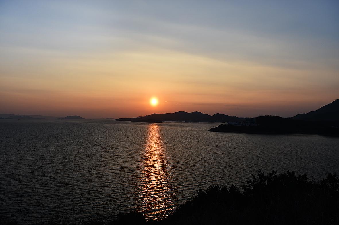 小豆島の夕日