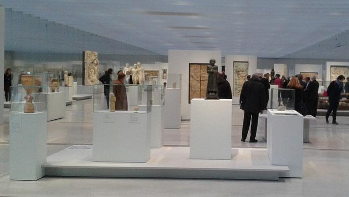 Somme tourisme - Somme groupes - Voyage - Séjour - Groupe - Lewarde - Centre historique minier - Mines - Mine du nord - 450 mètres de galeries - Louvre-Lens - Lens - Musée - Visite guidée - 200 oeuvres - Culture