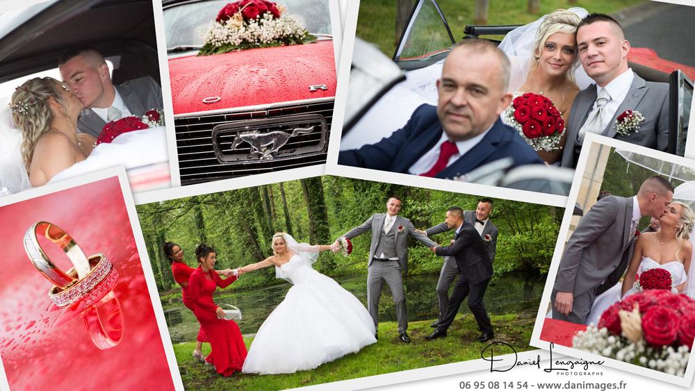 séance photo de couple de mariés dans l'oise aux portes du val d'oise