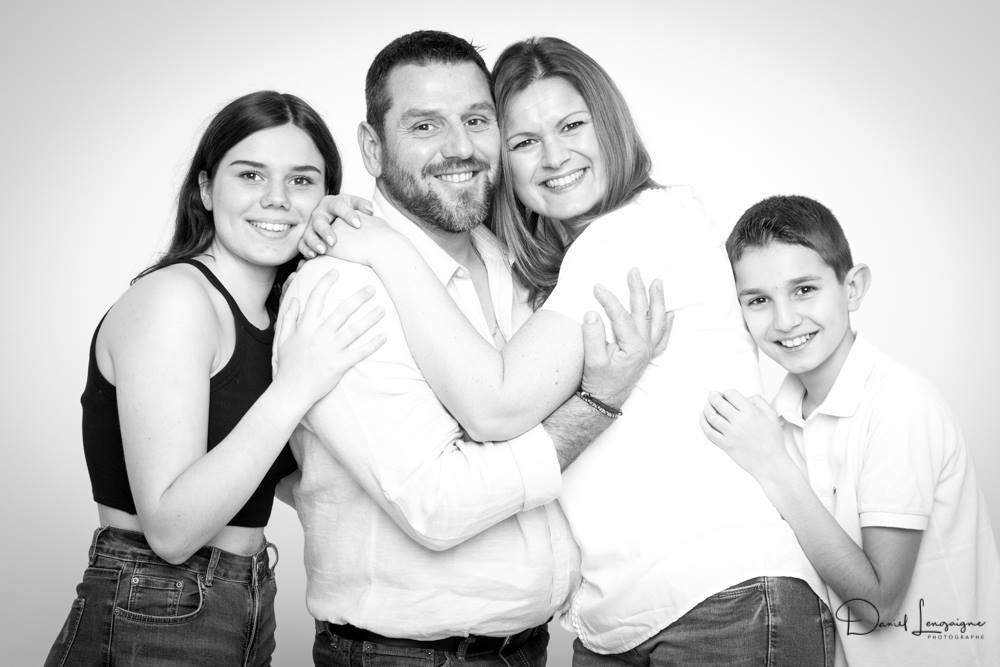 shooting famille  - studio photo Danimages dans l'oise
