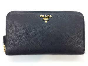 PRADA プラダ ラウンドファスナー財布
