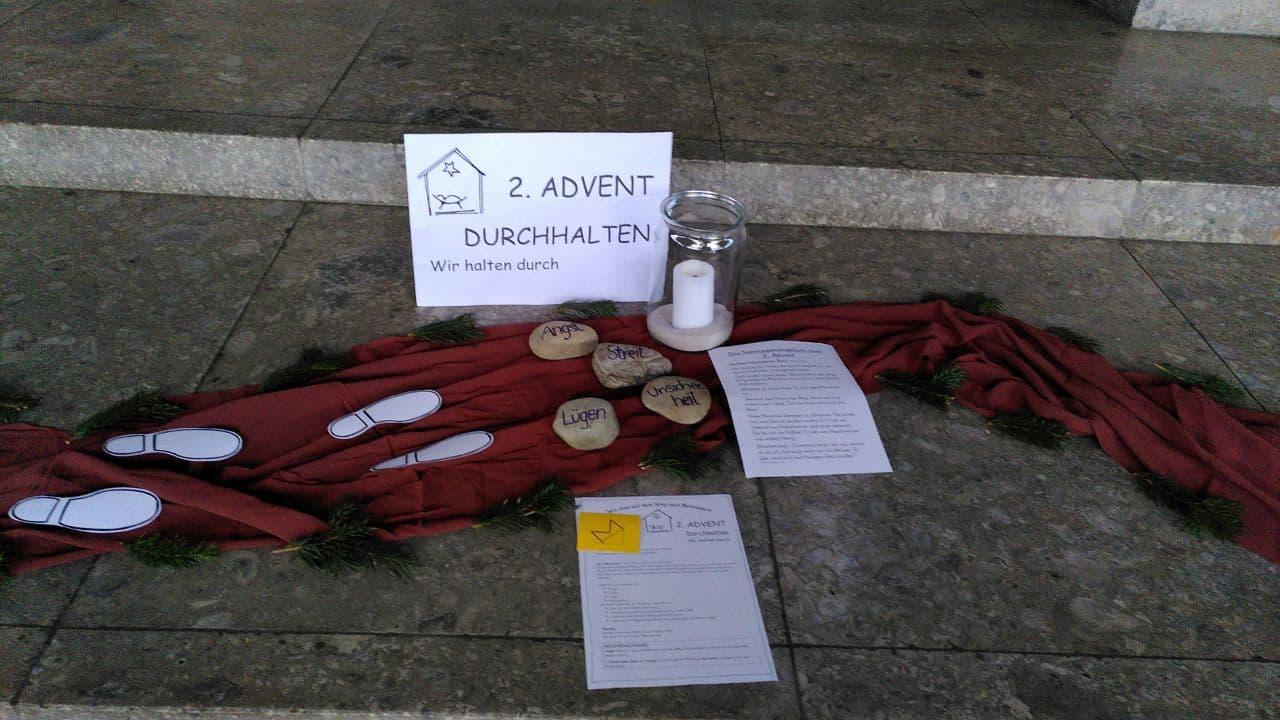 2. Advent - Durchhalten