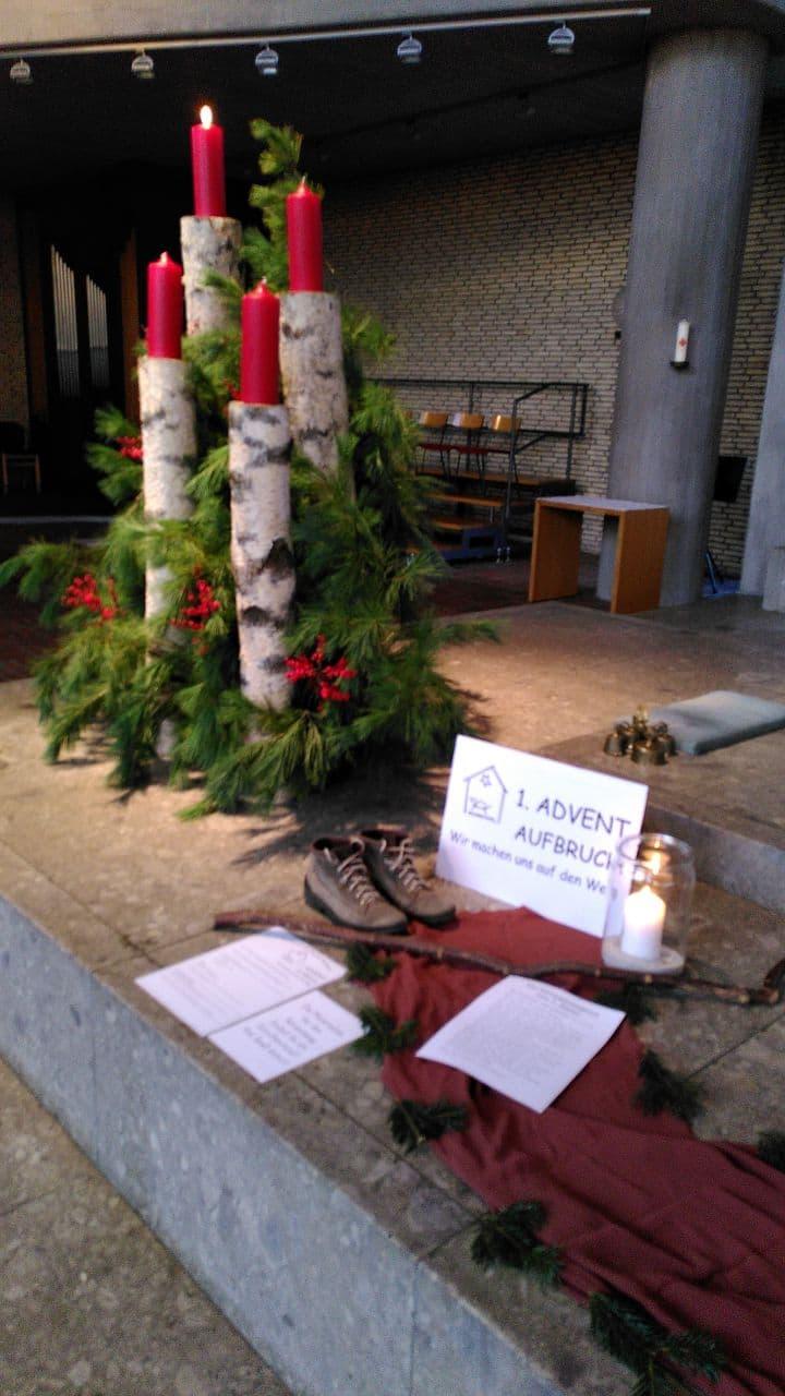 1. Advent - Aufbruch