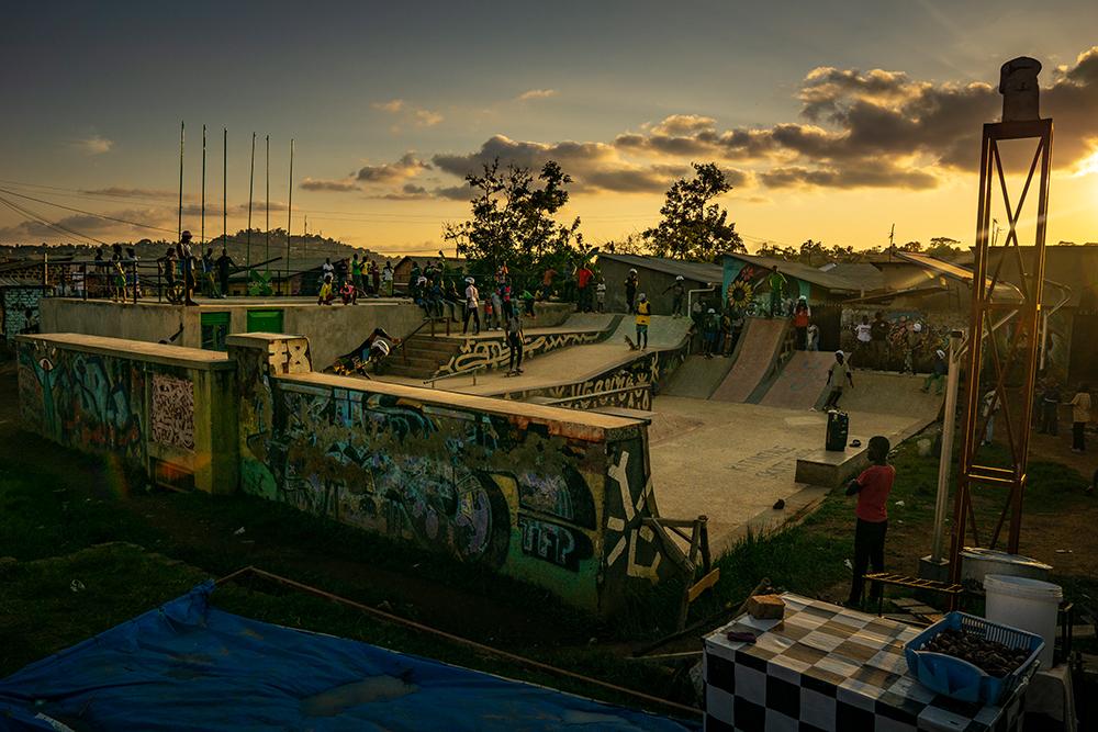 Mit Skateaid in Uganda