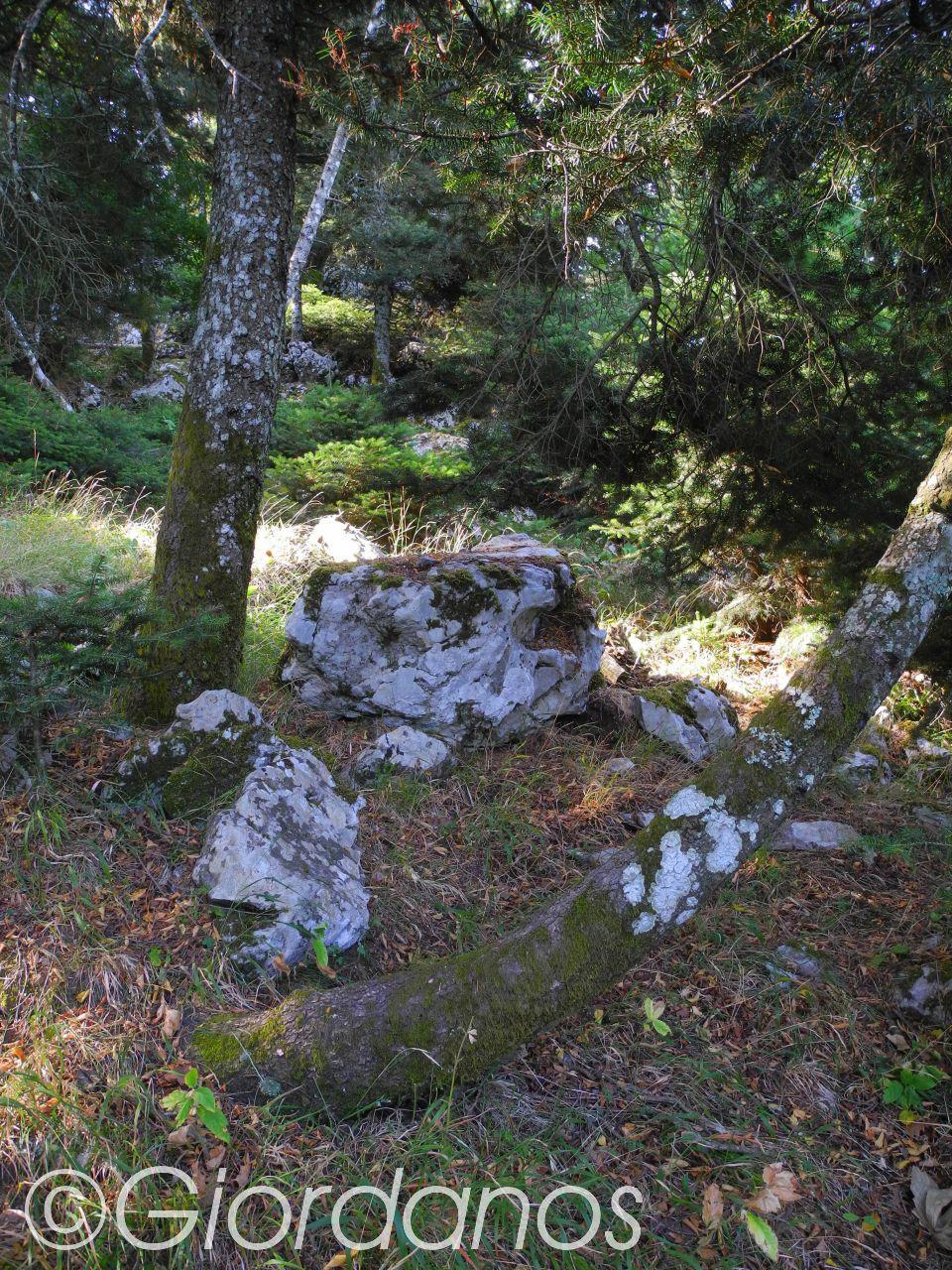Xiron Oros-Aufstieg zum Gipfel