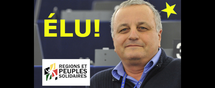 FRANÇOIS ALFONSI, ÉLU : UNE VICTOIRE POUR L'EUROPE DES RÉGIONS ET LE CLIMAT