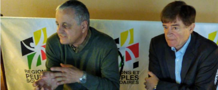 LES RÉGIONALISTES EN CAMPAGNE EN AUVERGNE POUR : « DÉPASSER L'EUROPE DES ÉTATS »