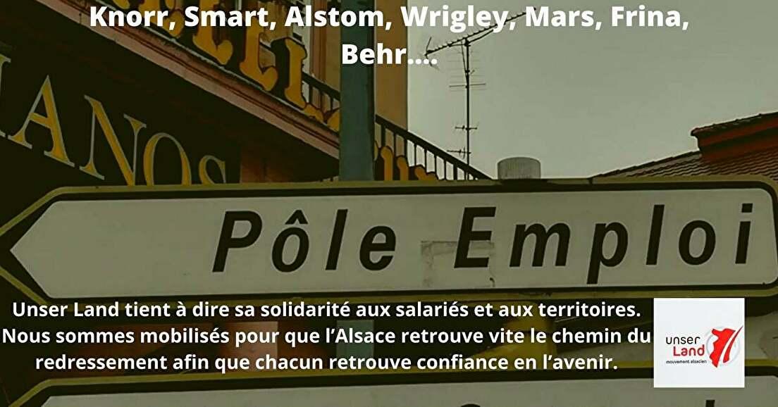 Redonner à l'Alsace de véritables compétences et moyens