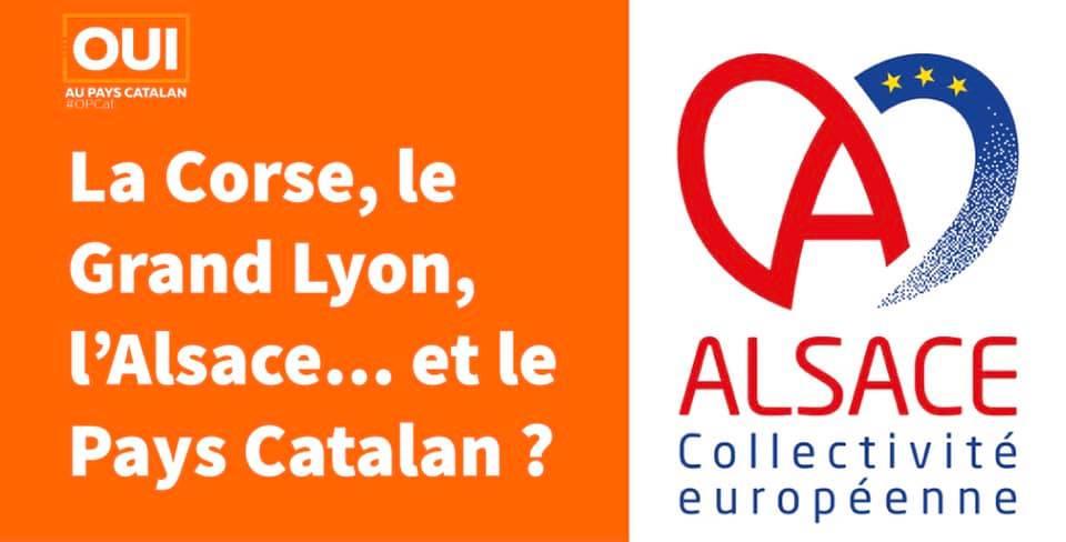 La Corse, le Grand Lyon, l'Alsace,... et le Pays Catalan ?