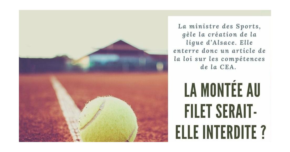 Roxana Maracineanu gèle la Ligue d'Alsace de Tennis