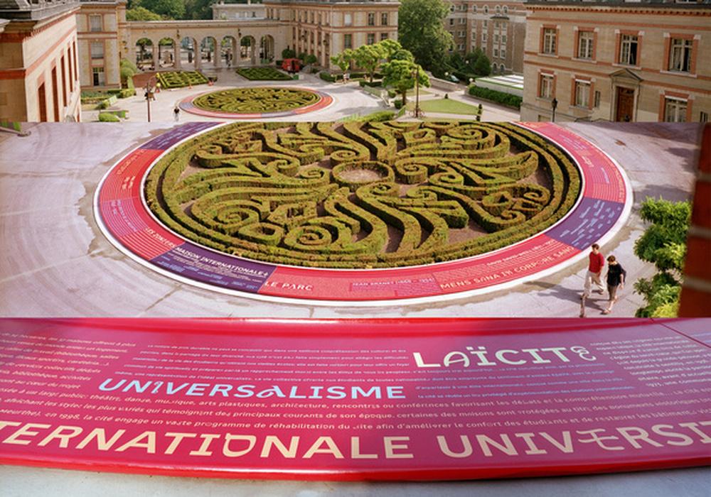 siganlétique / Eric Jourdan, Intégral, Ruedi Baur et Associés, Cité internationale universitaire, Paris, 2003