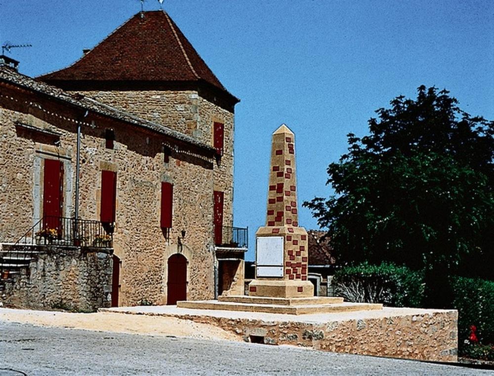 monument aux morts / Jochen Gerz, Biron, 1996