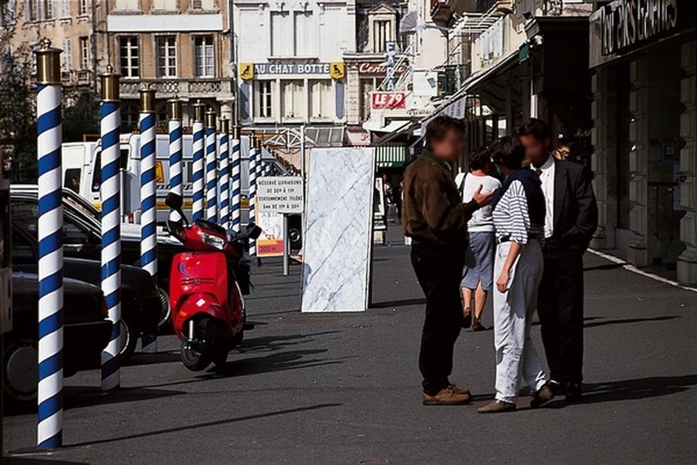 mobilier urbain / Jacques Hondelatte, Niort, 1992