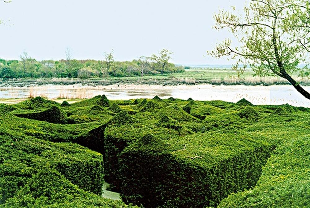 jardin / Bernard Lassus, Rochefort-sur-Mer, 1992