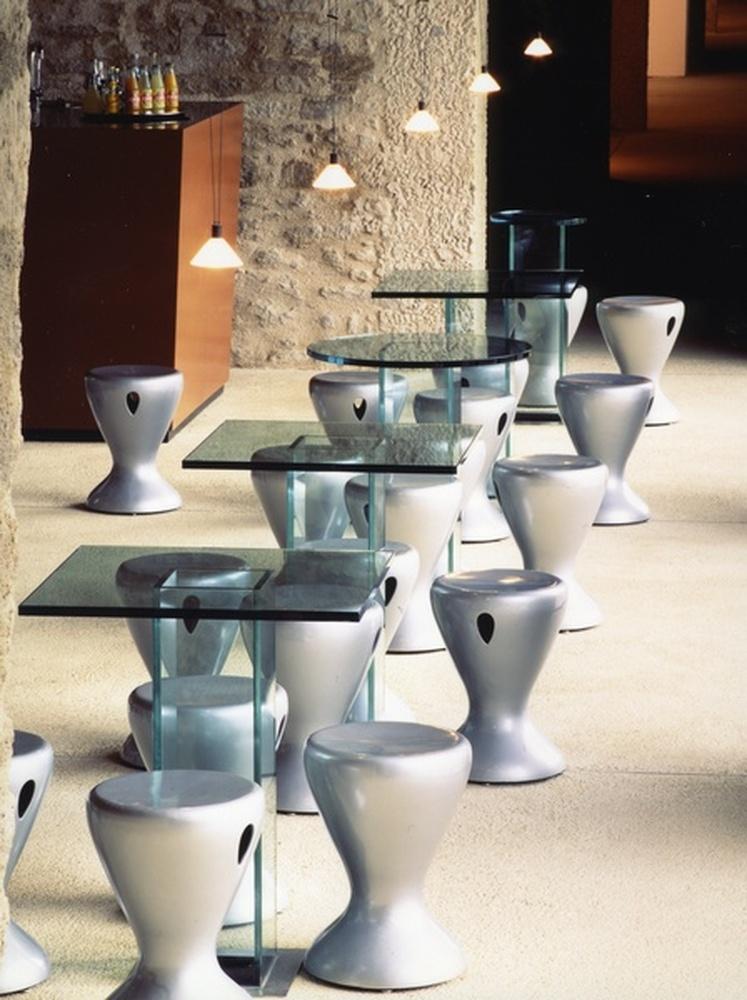 mobilier / Pascal Mourgue, Locminé, 1991