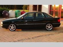 """Audi 90 2.3 - Günther """"Günni"""" Scherbel"""