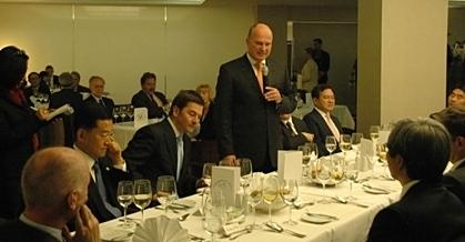 Begrüßung der Teilnehmenden durch Herrn Staatssekretär Koschyk