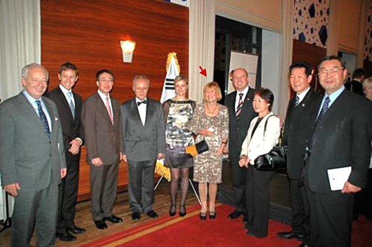 Verleihung des Mirok-Li-Preises der Deutsch-Koreanischen Gesellschaft an Dr. Sylvia Bräsel