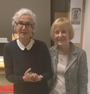 Sylvia Bräsel mit Alena Fürnberg
