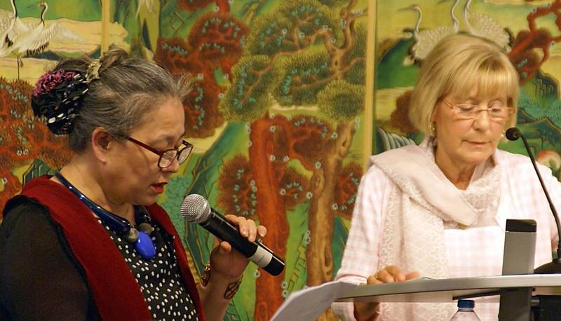 Sooki Koeppel und Sylvia Bräsel