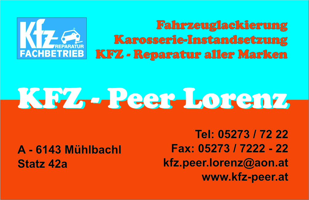KFZ - Peer Lorenz