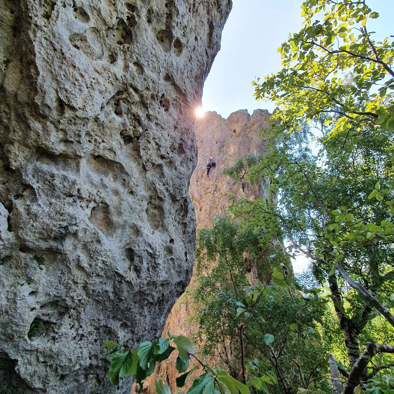 Lukas Althuber - Leiter der Geoventure Kletterschule