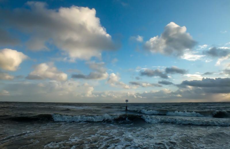 Wolken, Wind und Wellen