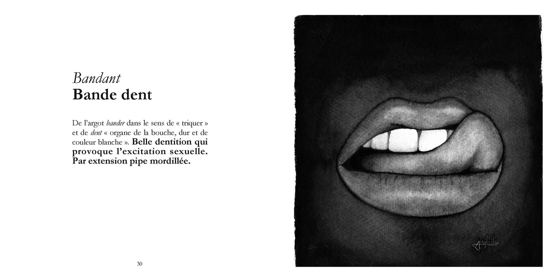 Bandant - Bande dent / P 30-31 du Bestof2 -Texte Edith - Dessin Anne-Laure Anglade. Droits réservés - Reproduction interdite