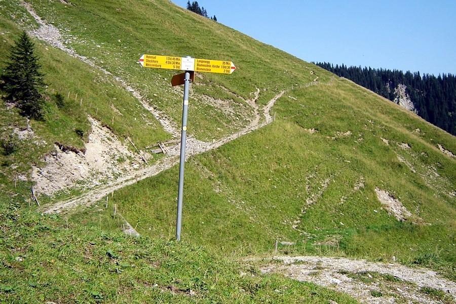 Vo hie us geits nume no obsi: Gueti 600 Höhemeter