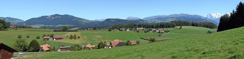 Panorama Kienersrüti - Falkenfluh