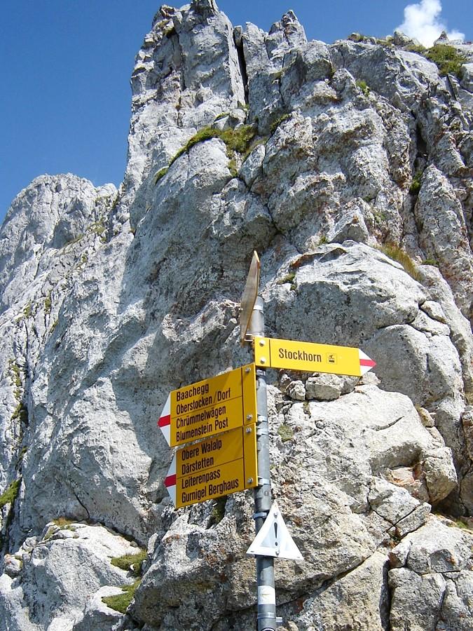 ändlech gschafft - d'Schtäge - bis ufe Gipfu geits geng no ca. 140 Höhemeter