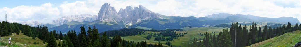 Panorama auf Monte Seue