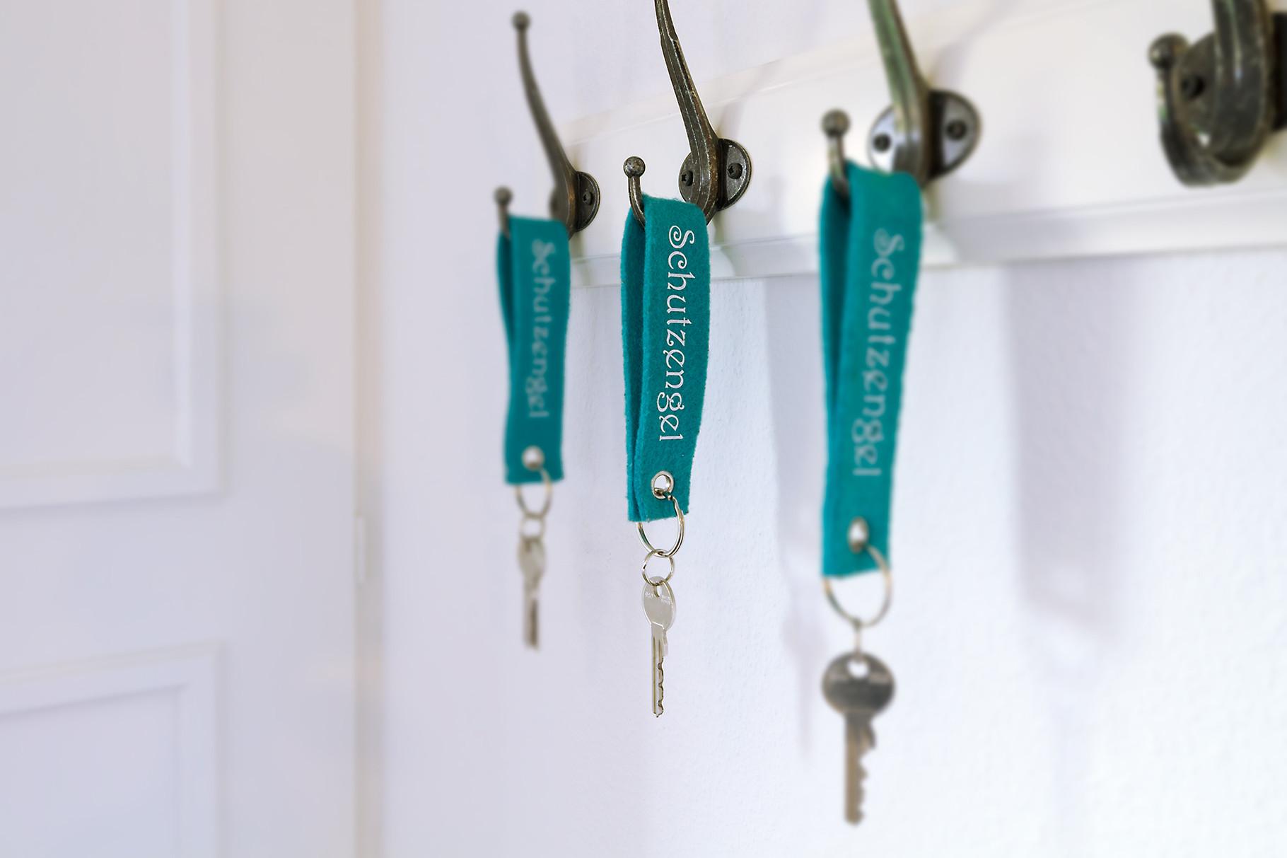 Schlüssel zu einem tollen Ferienhaus.