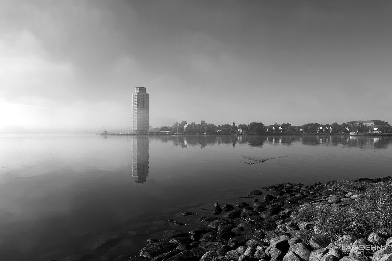 Morgentliche Stimmung in Schleswig.