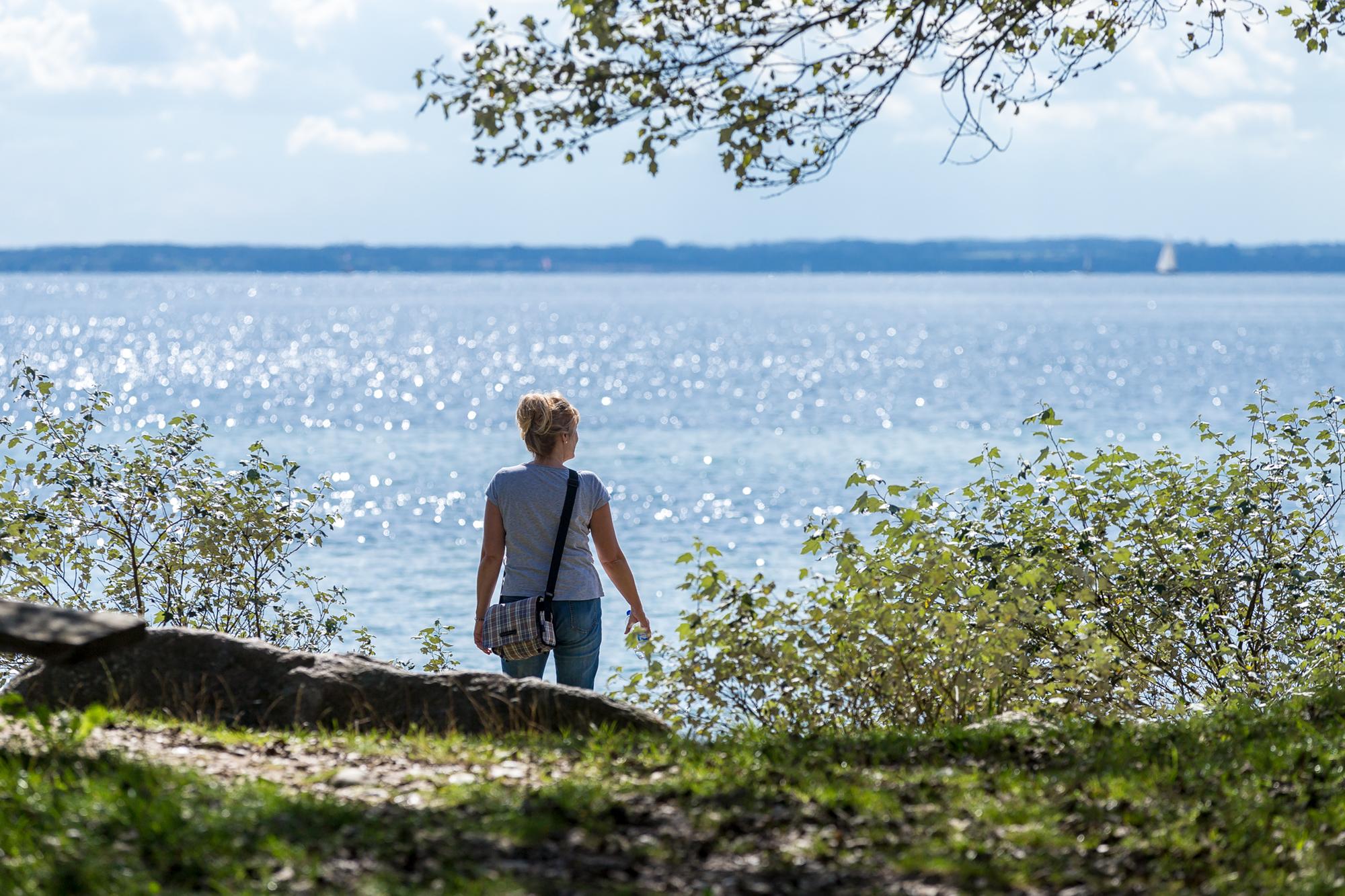 Herrliche Stimmung am Meer in Dänemark.