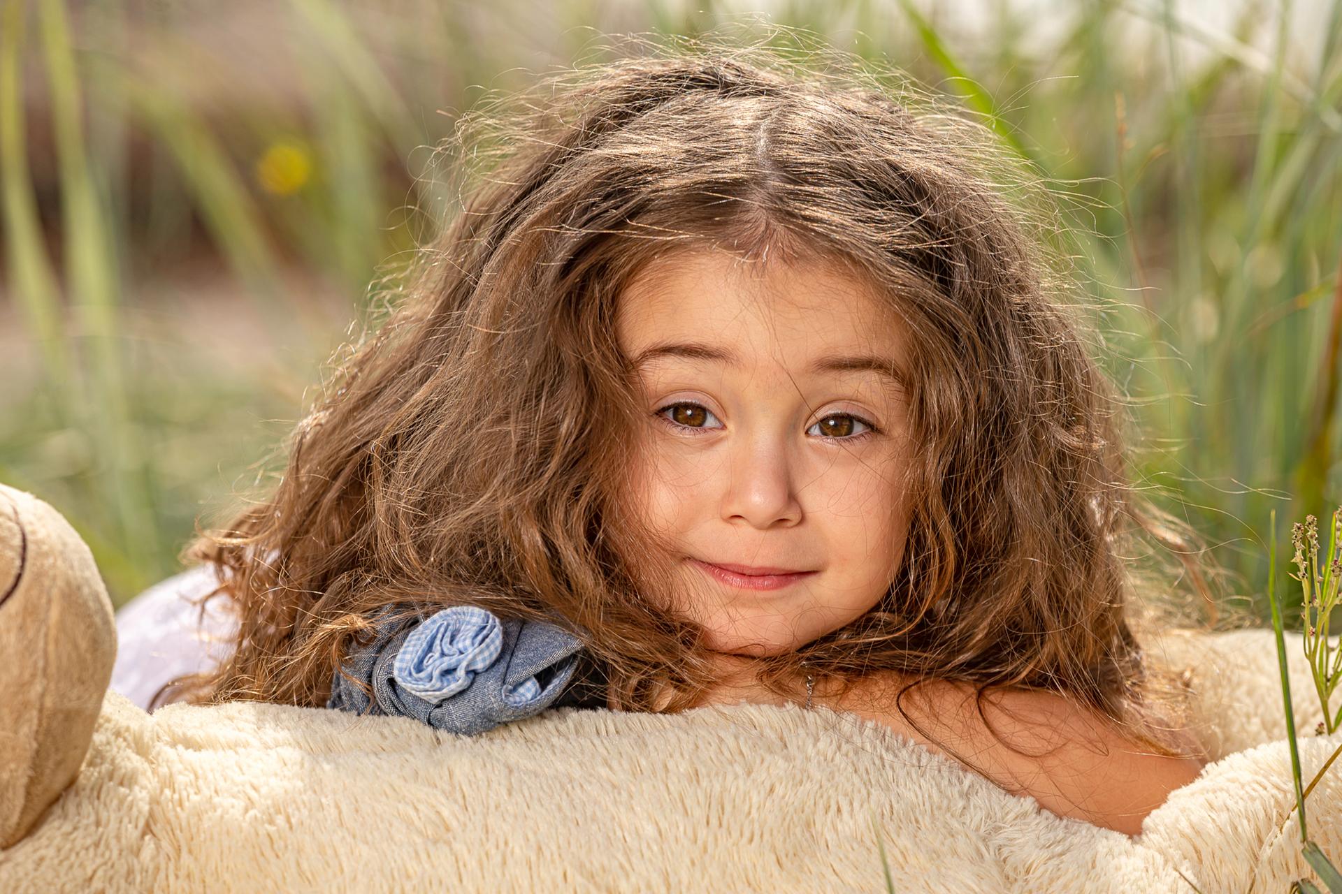 Kinderfotos (Outdoor-Fotoshooting).