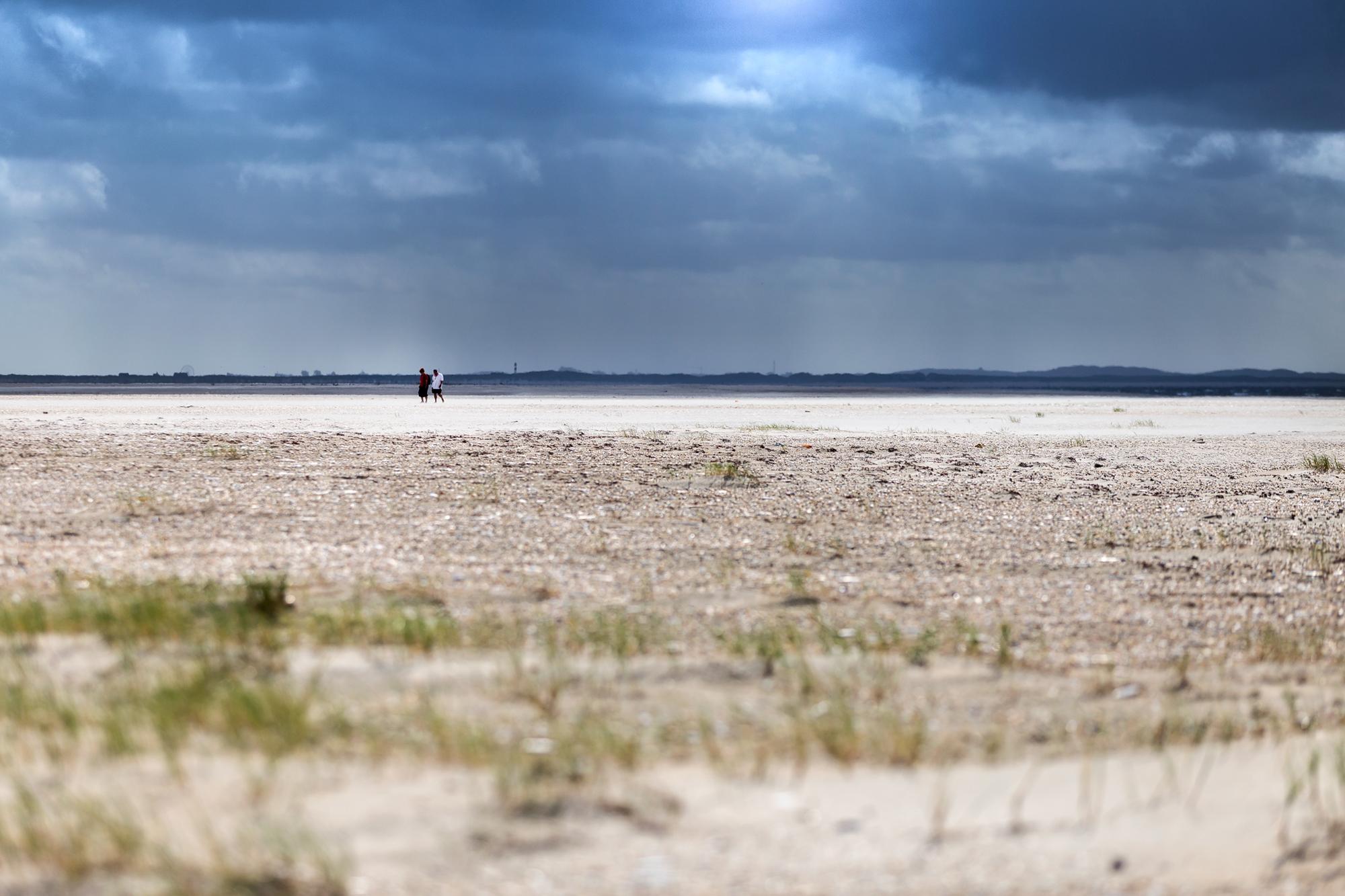 Insel Römö in Dänemark und ihre herrliche Weite.