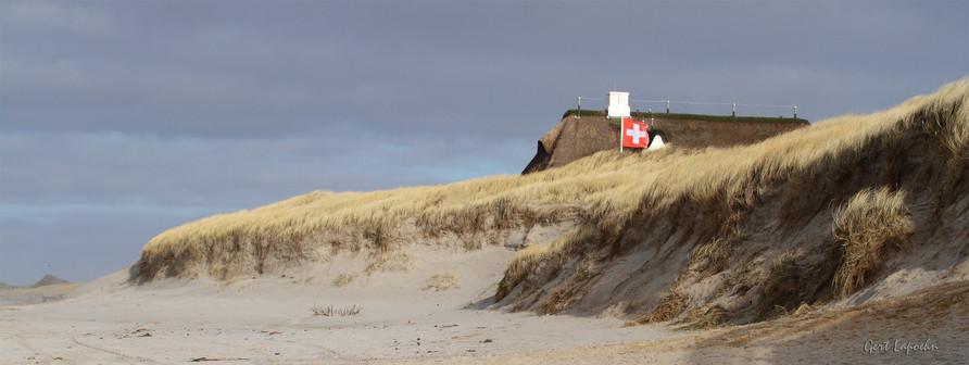 Die Küste auf der Westseite von Sylt.