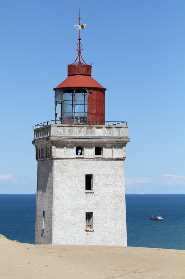 Leuchtturm Rubjerg Knude Fyr in Dänemark.