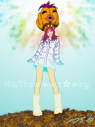 201210 ハロウィン☆スカイ
