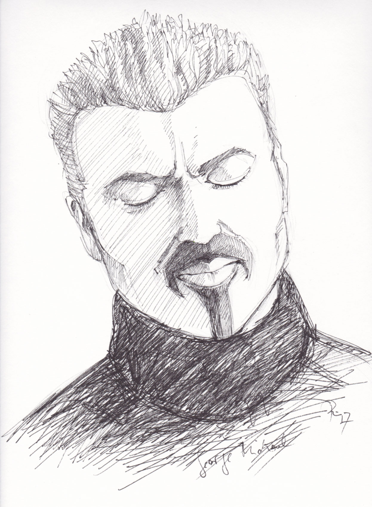 George Michael . 2018 . Fineliner