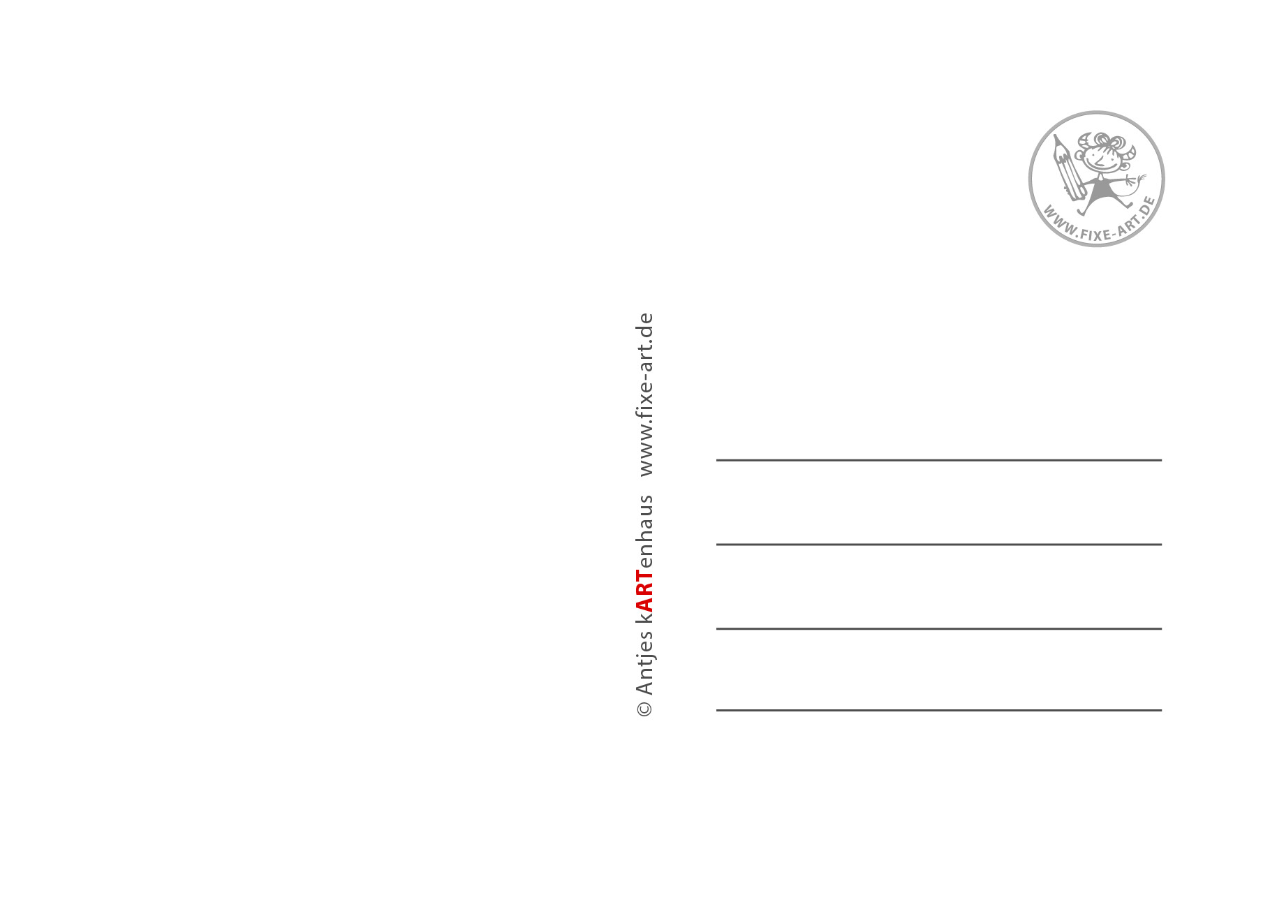 Postkartendesign