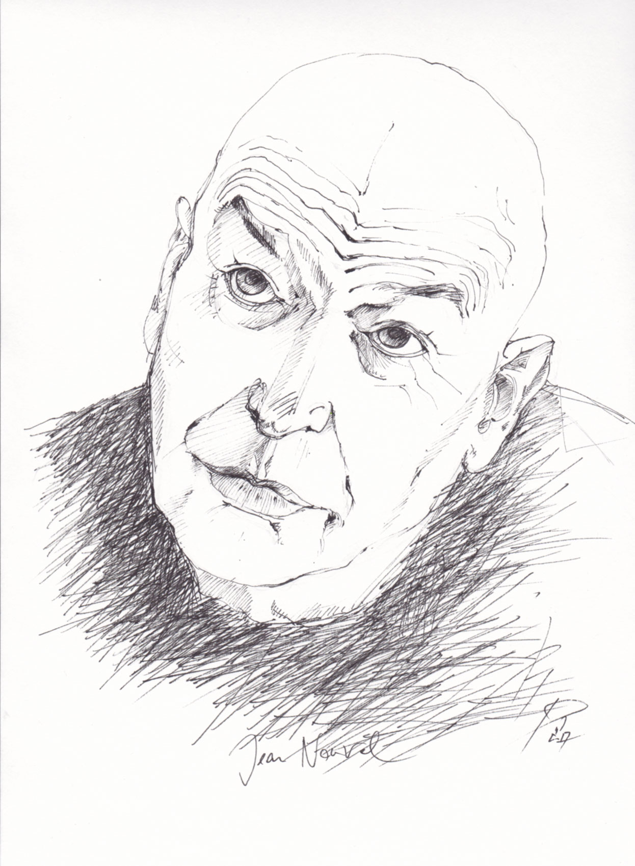 Jean Nouvel . 2018 . Fineliner