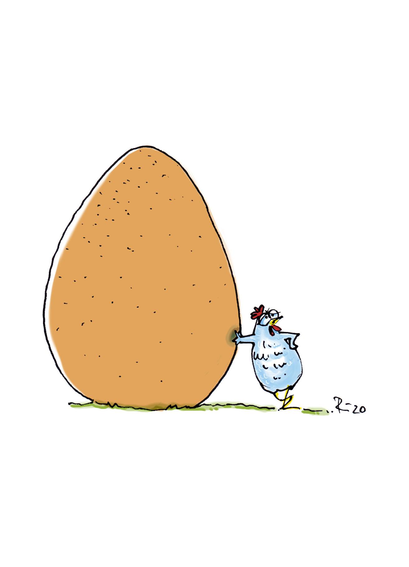 Ach, du dickes Ei!