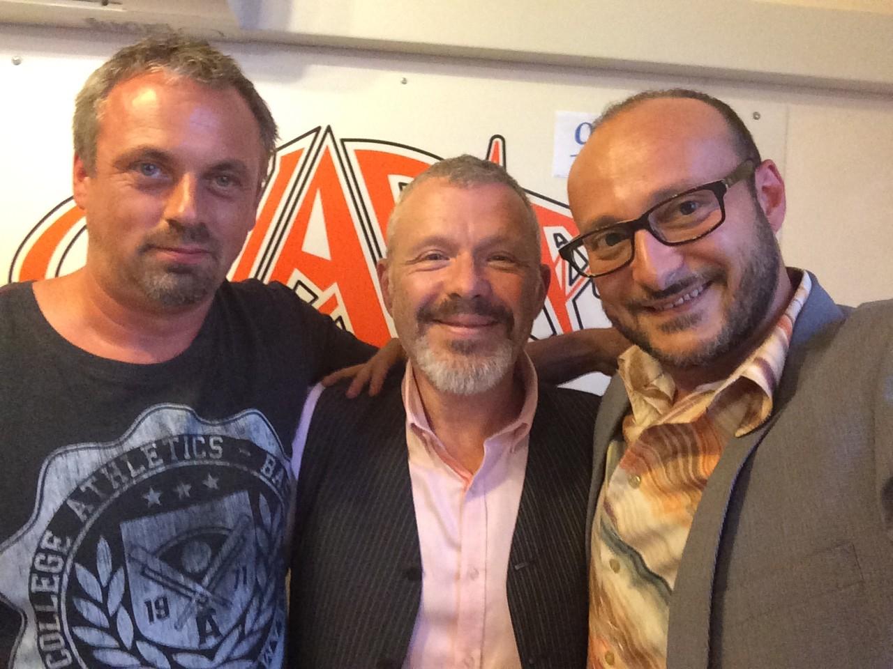 Didier Chapelle et Francesco Palmeri