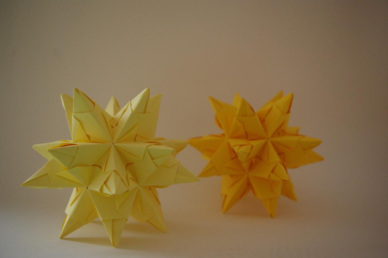 30-teiliger Stern entworfen von Paolo Bascetta
