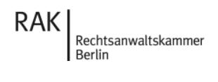 Mitglied in der Rechtsanwaltskammer Berlin