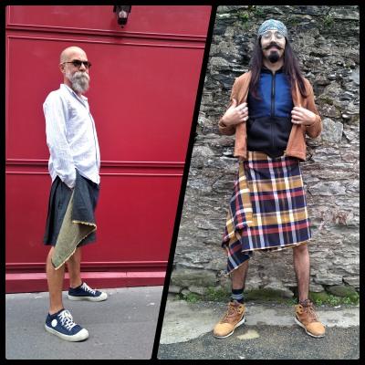 Sous les jupes des hommes vend une offre de kilts et jupes pour homme pour tous les styles. Moderne, chic, à la mode, branché, classe, tendance, la jupe pour homme est le vêtement de la rentrée 2020. Messieurs à vos jupes, prêt, partez. Osez le style.